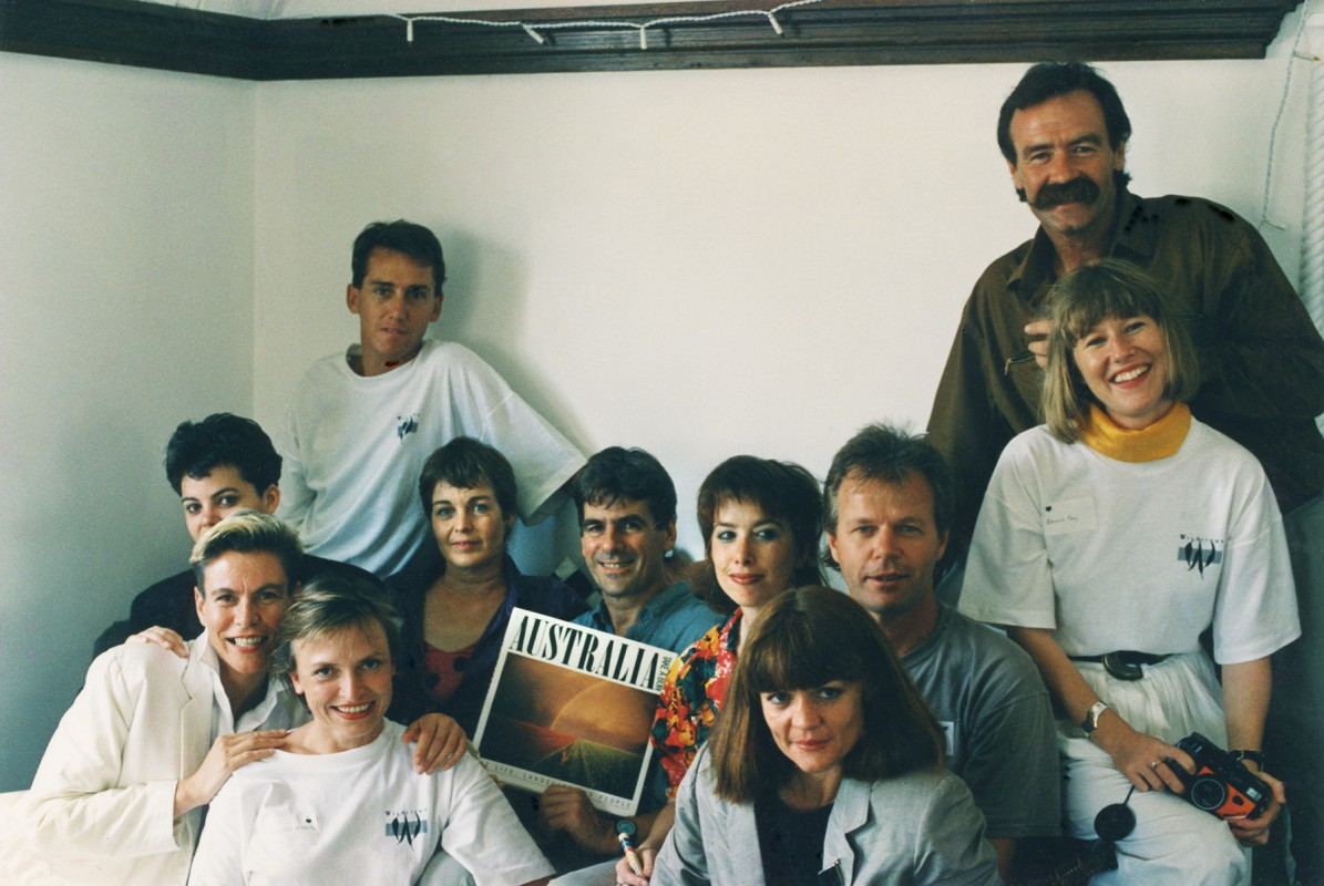 Wildlight staff and photographers 1988